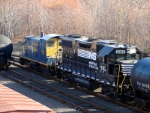 NS 5313 & CSX 1128